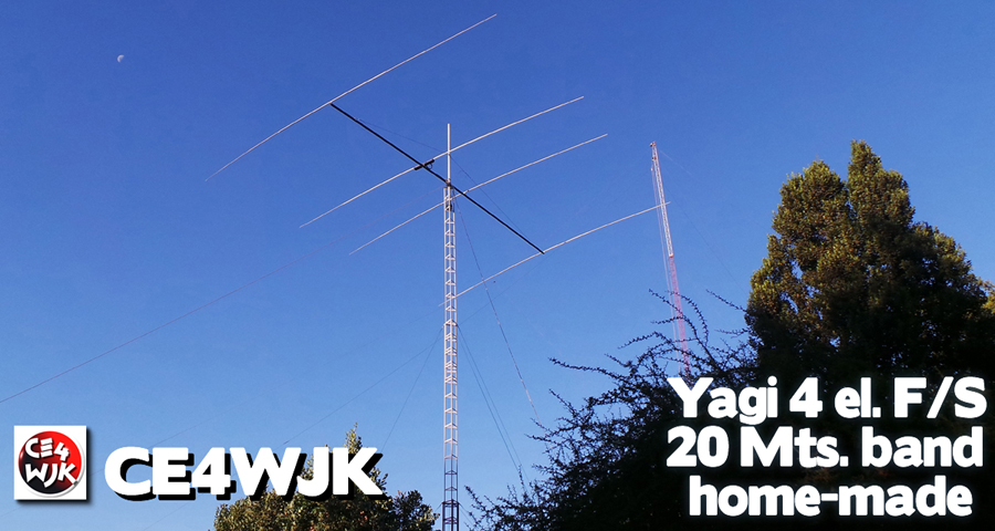 new antenna 4el. 20 Mts. band full-size