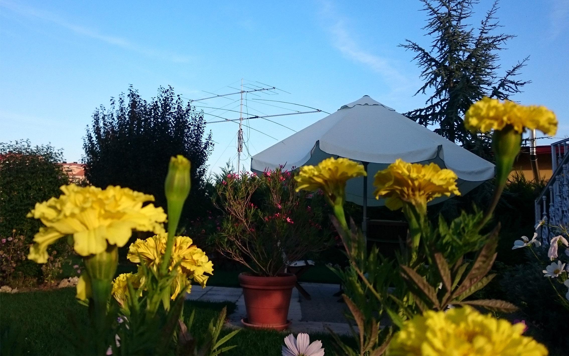 antenas de 6 y 20 m