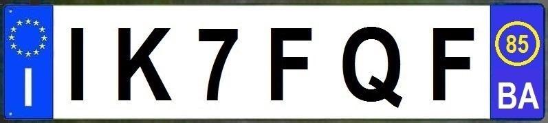 TARGA IK7FQF